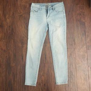 Free People Light Wash Skinny Jeans